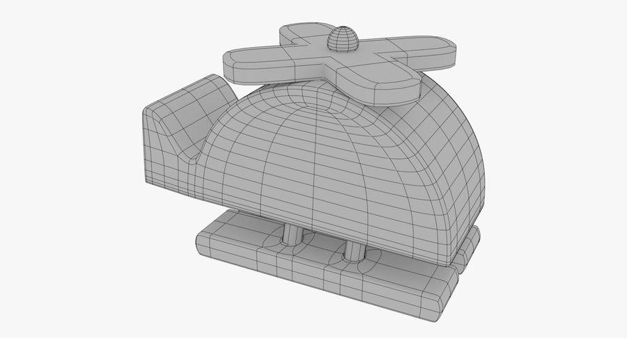 Avião de brinquedo royalty-free 3d model - Preview no. 19