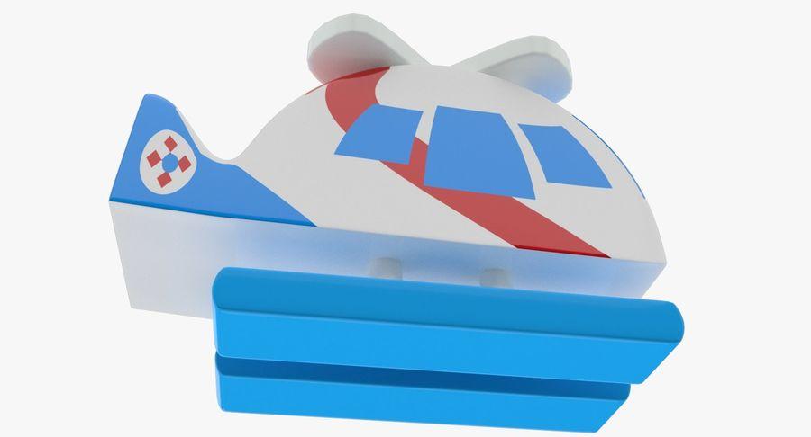Avião de brinquedo royalty-free 3d model - Preview no. 5