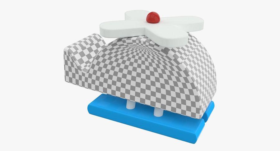 Avião de brinquedo royalty-free 3d model - Preview no. 13