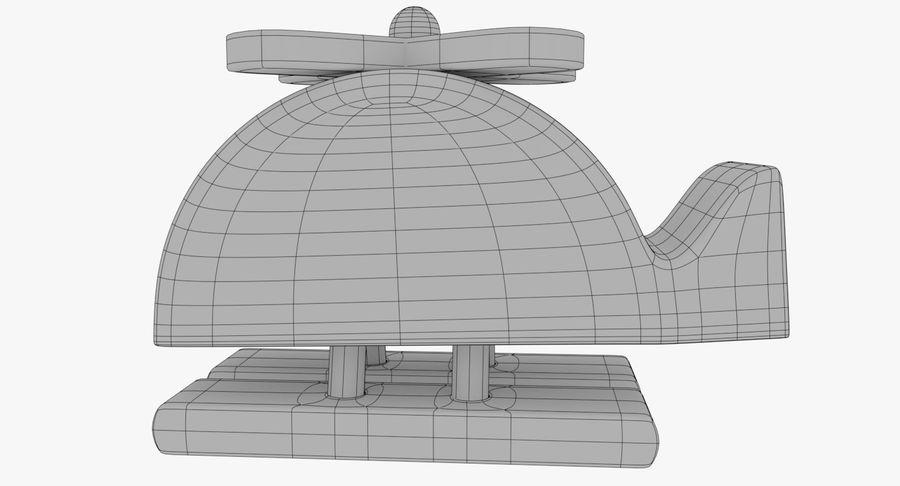 Avião de brinquedo royalty-free 3d model - Preview no. 20