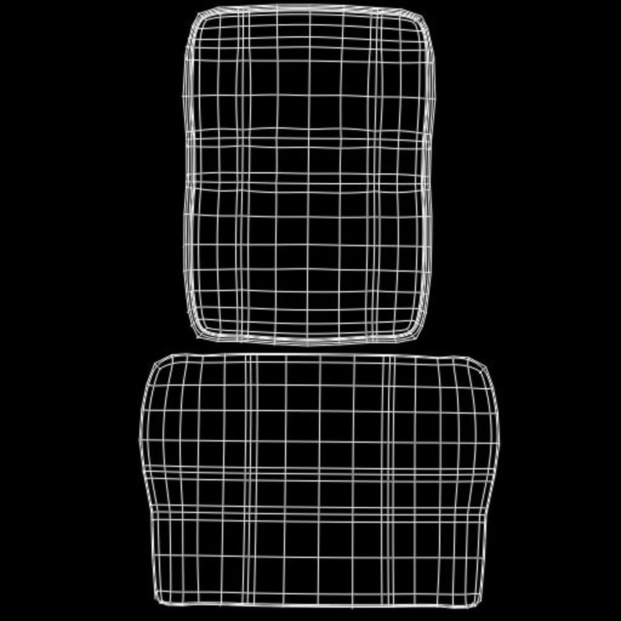 Computer Chair royalty-free 3d model - Preview no. 14