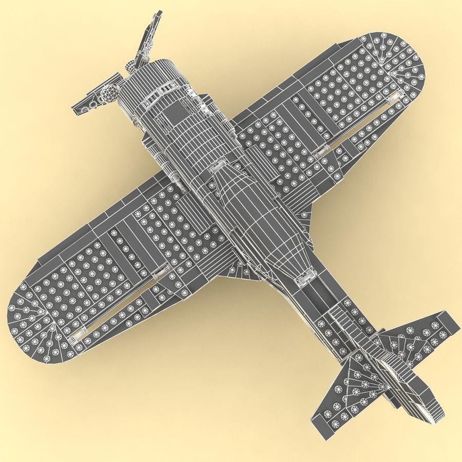 Avião LEGO 31011 royalty-free 3d model - Preview no. 19