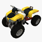 LEGO Turbo Quad 3d model