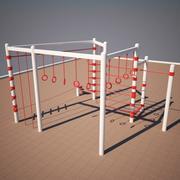 Athletic Climb 3d model