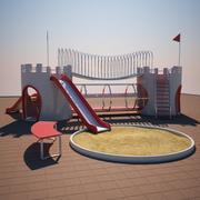 大城堡公园 3d model