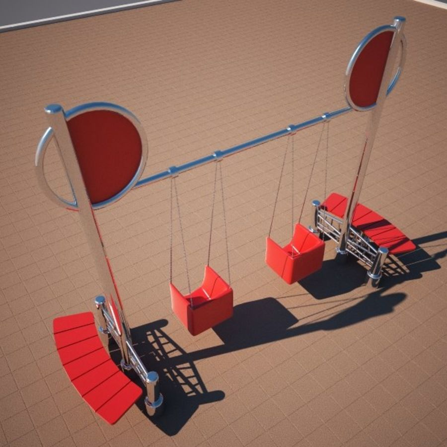 Swing 2 swing royalty-free 3d model - Preview no. 1