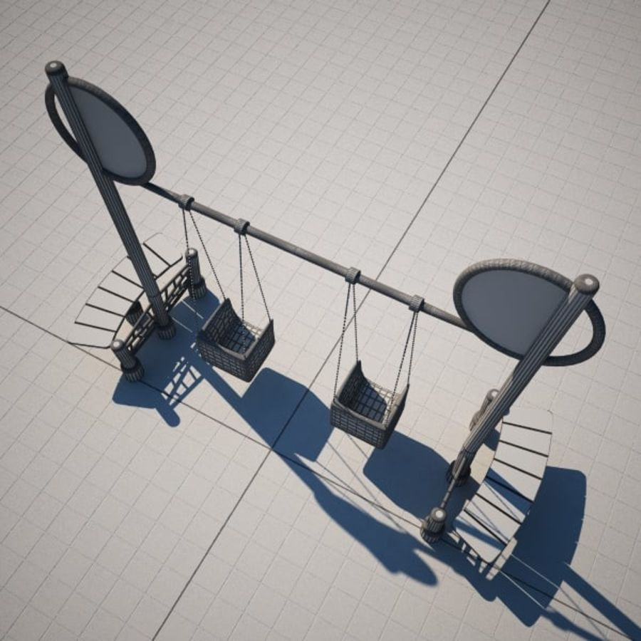 Swing 2 swing royalty-free 3d model - Preview no. 6