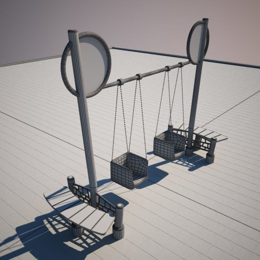 Swing 2 swing royalty-free 3d model - Preview no. 5