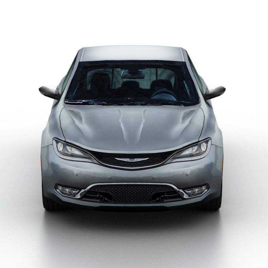 Chrysler 200 2015 royalty-free 3d model - Preview no. 4