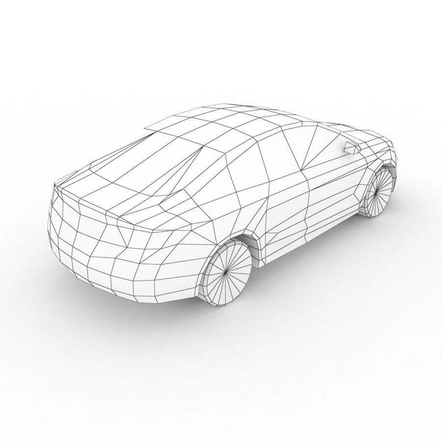 Chrysler 200 2015 royalty-free 3d model - Preview no. 8