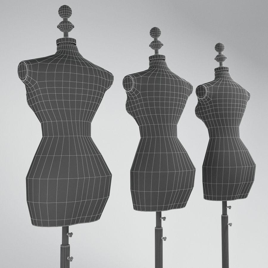 Buste etalagepop royalty-free 3d model - Preview no. 5