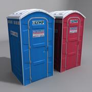 Allmän toalett 3d model