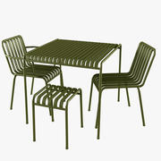 dış mekan mobilyaları 01 3d model