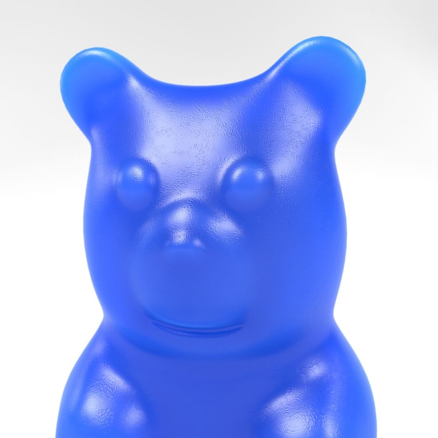 Gummy Bear royalty-free 3d model - Preview no. 7