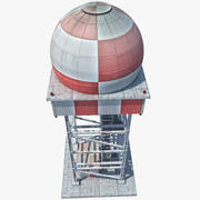 Radar Tower 3d model