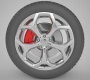 Roue de voiture 3d model