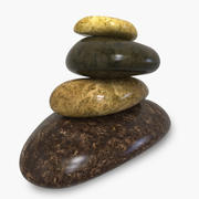 Pebbles Rock 3d model