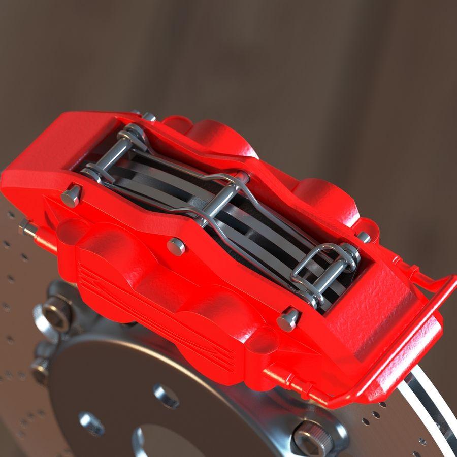 ブレーキ royalty-free 3d model - Preview no. 6