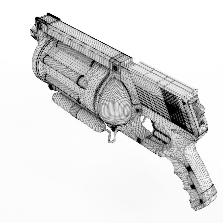 Steampunk royalty-free 3d model - Preview no. 11