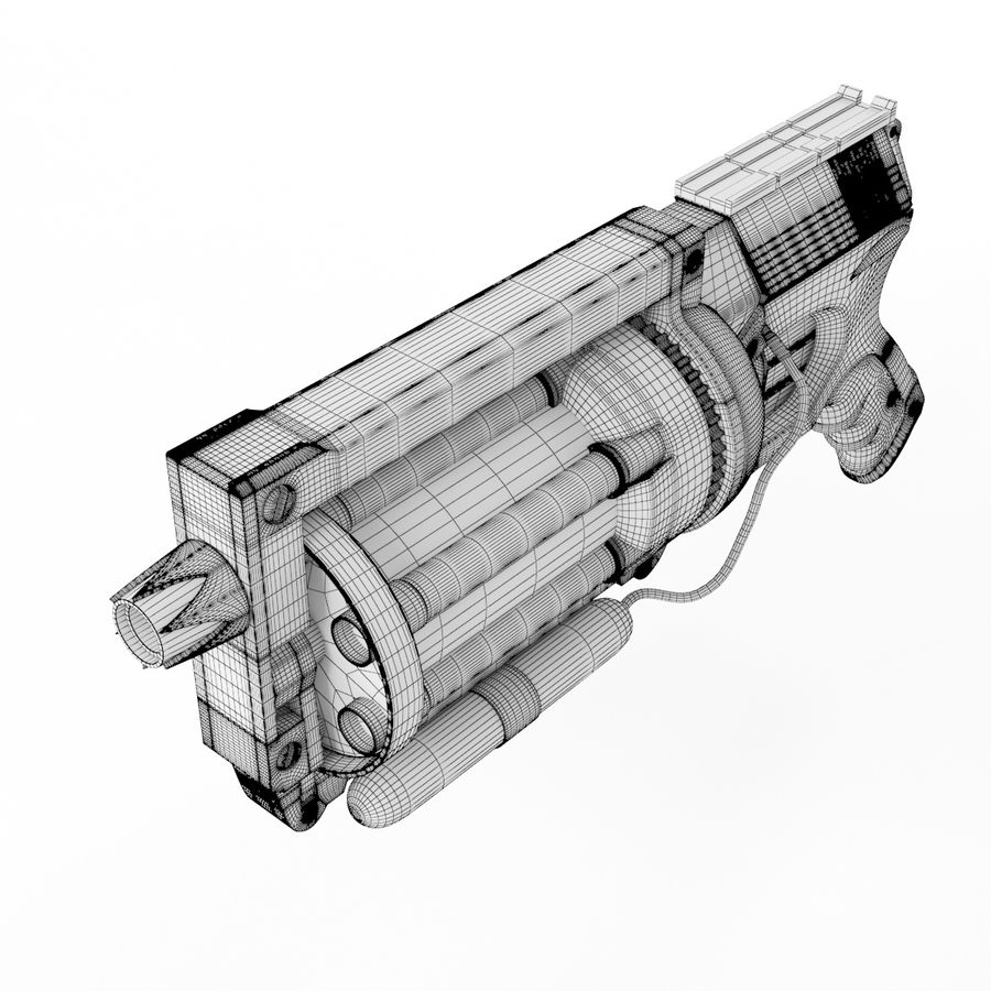 Steampunk royalty-free 3d model - Preview no. 10