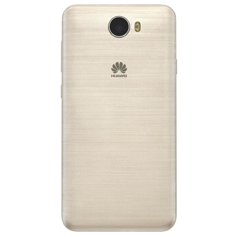 Huawei Y5II Gold royalty-free 3d model - Preview no. 9