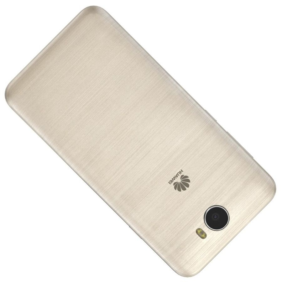 Huawei Y5II Gold royalty-free 3d model - Preview no. 17
