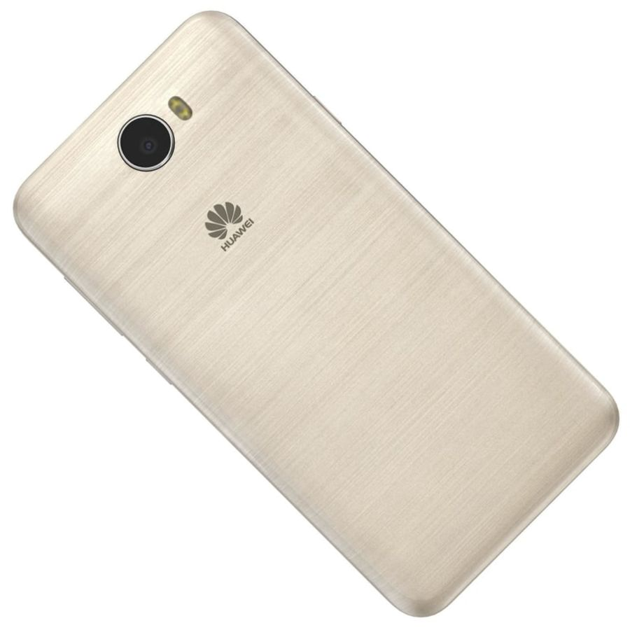 Huawei Y5II Gold royalty-free 3d model - Preview no. 15
