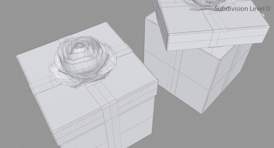 Geschenkbox royalty-free 3d model - Preview no. 15