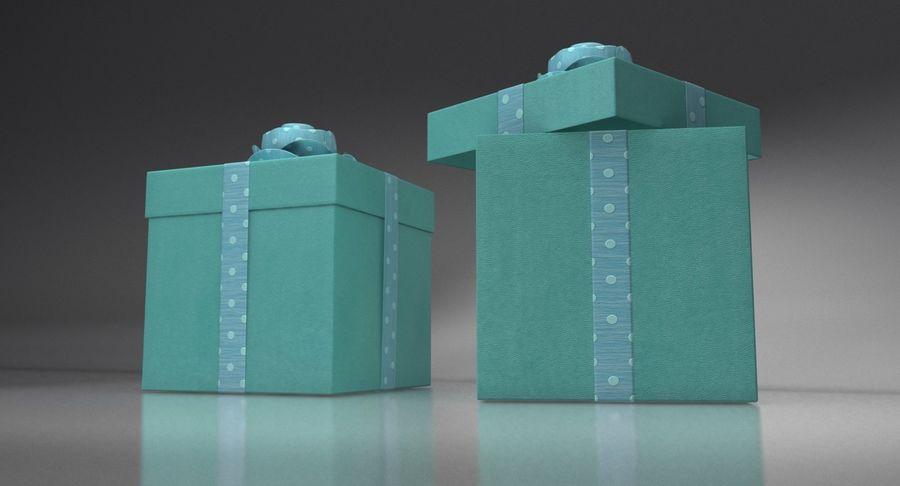 Geschenkbox royalty-free 3d model - Preview no. 5