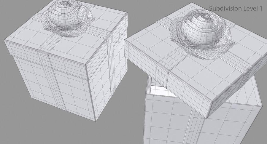 Geschenkbox royalty-free 3d model - Preview no. 14