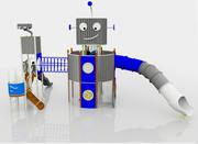 robot playground 3d model