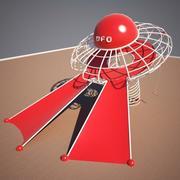 Ufo Park 3d model