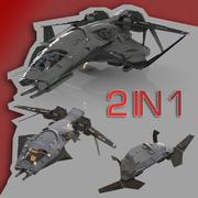 Astronave modelo 3d