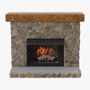 Fire Place 3d model