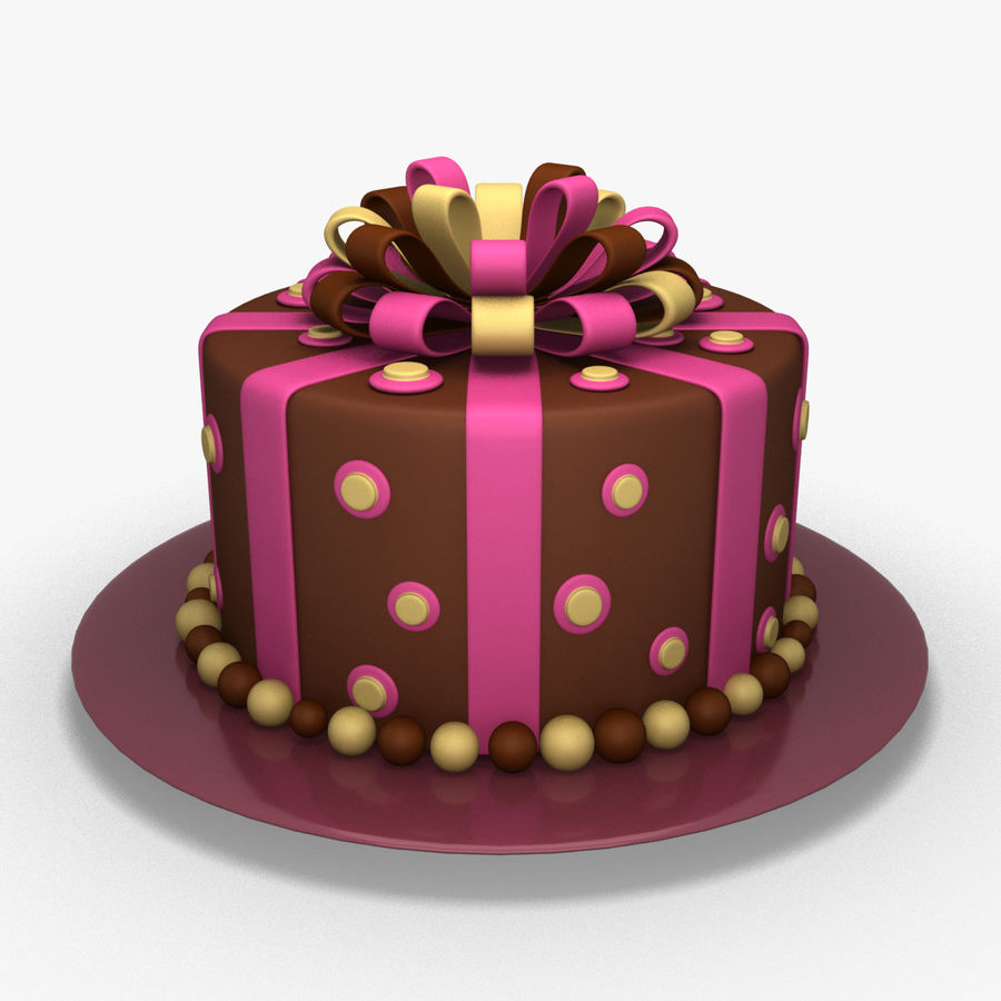 Cake royalty-free 3d model - Preview no. 1