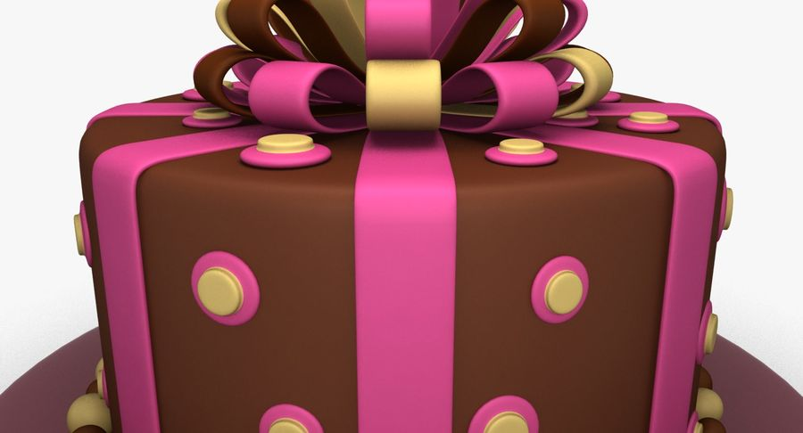 Cake royalty-free 3d model - Preview no. 6