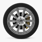 AEZ Reef SI Disk Car Wheel 3d model
