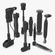 Ram Sci-Fi Hydraulic Cylinders 3D Models Set 3d model