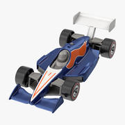 Zabawkowy samochód wyścigowy 01 3d model