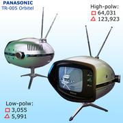 レトロなテレビ:パナソニックTR-005 3d model
