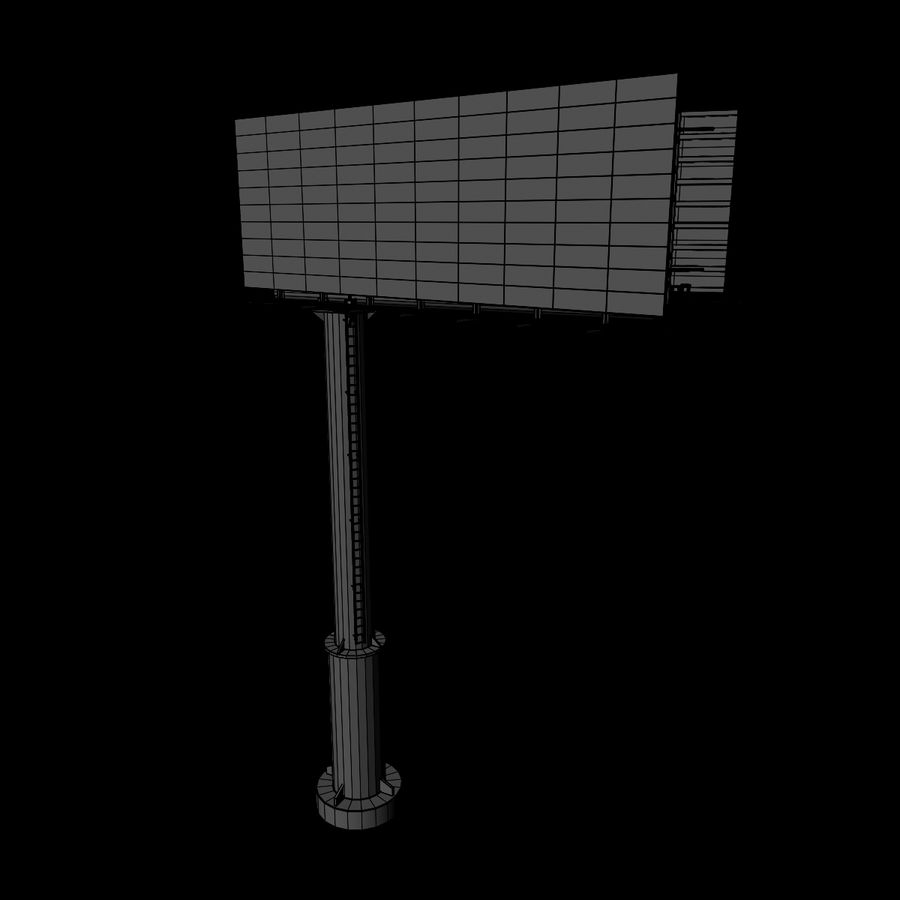 Billboard royalty-free 3d model - Preview no. 7