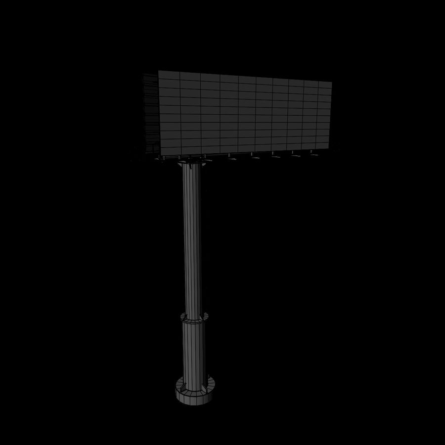 Billboard royalty-free 3d model - Preview no. 8