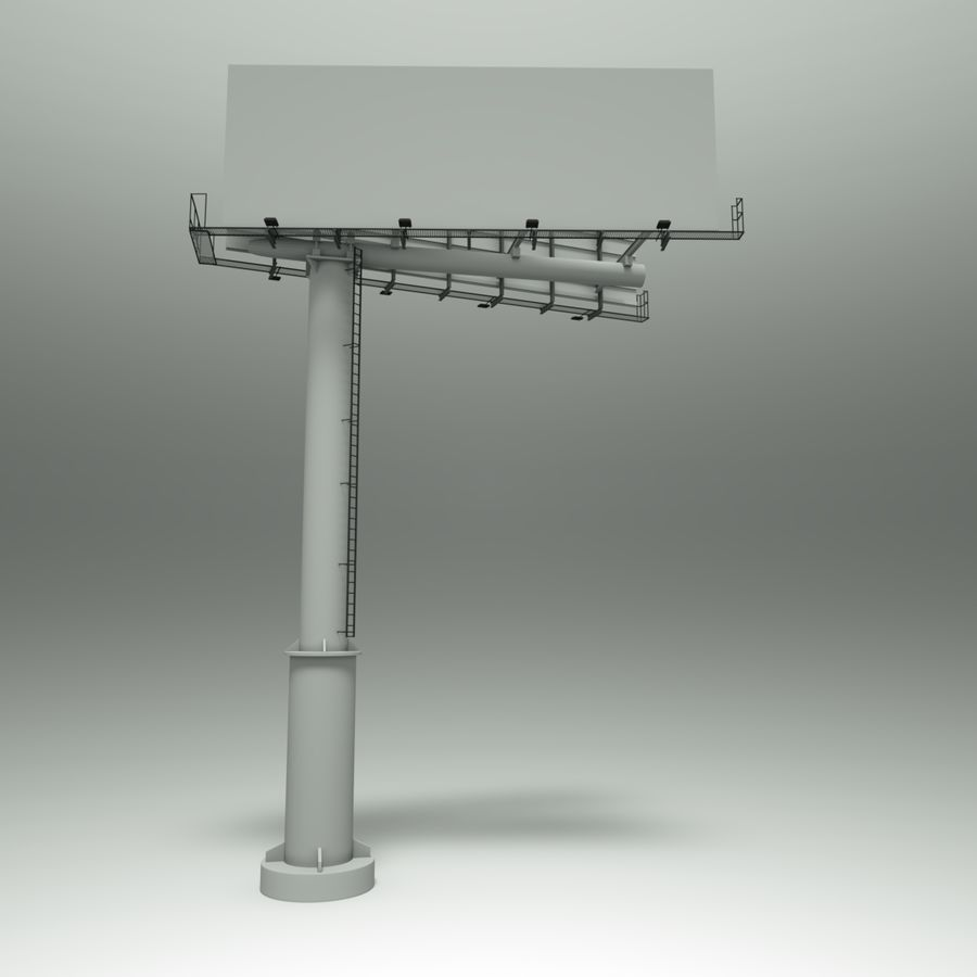 Billboard royalty-free 3d model - Preview no. 1