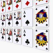 Cartão Pocker 3d model