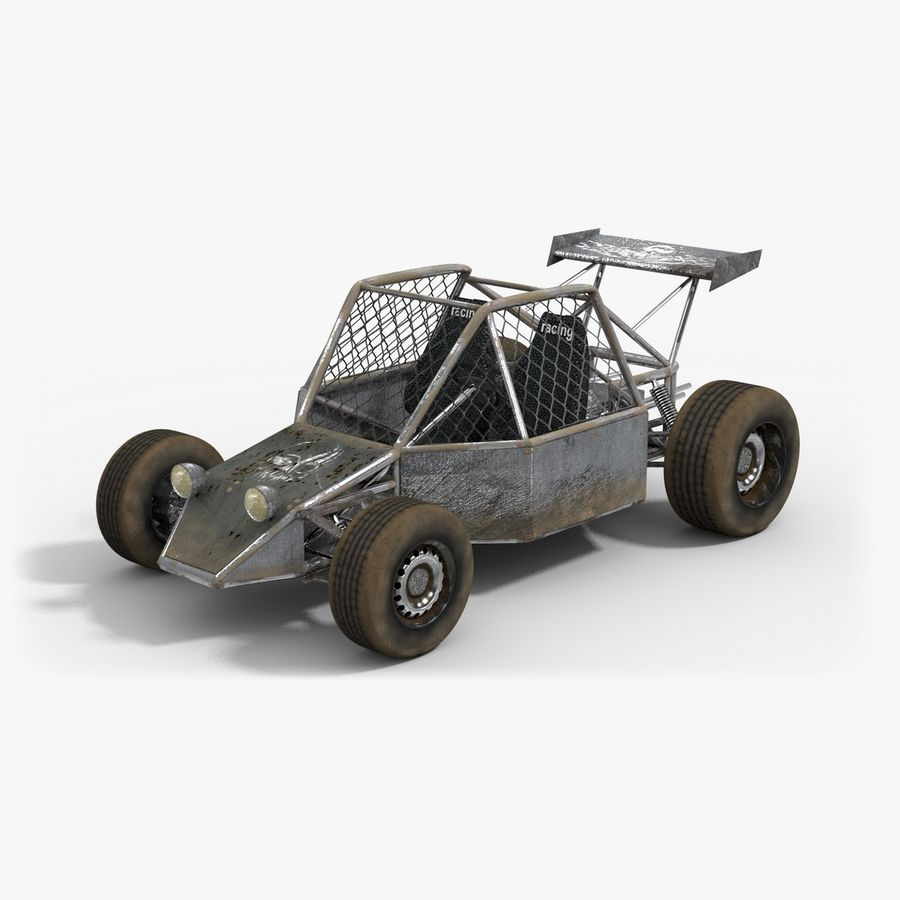 Desert Buggy royalty-free 3d model - Preview no. 1