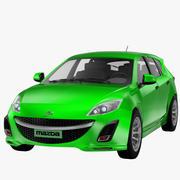 2010 Mazda3 - Nieuw 3d model