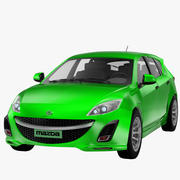 Mazda3 2010 - Novo 3d model