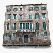 ヴェネツィアの古い家1 3d model