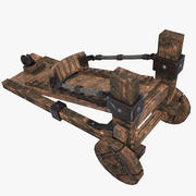 Catapulta degli Orchi 3d model