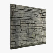 Бетонная стена 3d model